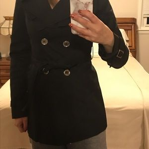 Express black trench